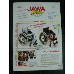 Prospekt Jawa invalidní vozíky