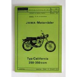 Katalog náhradních dílů - Jawa Californian pro Neckermann